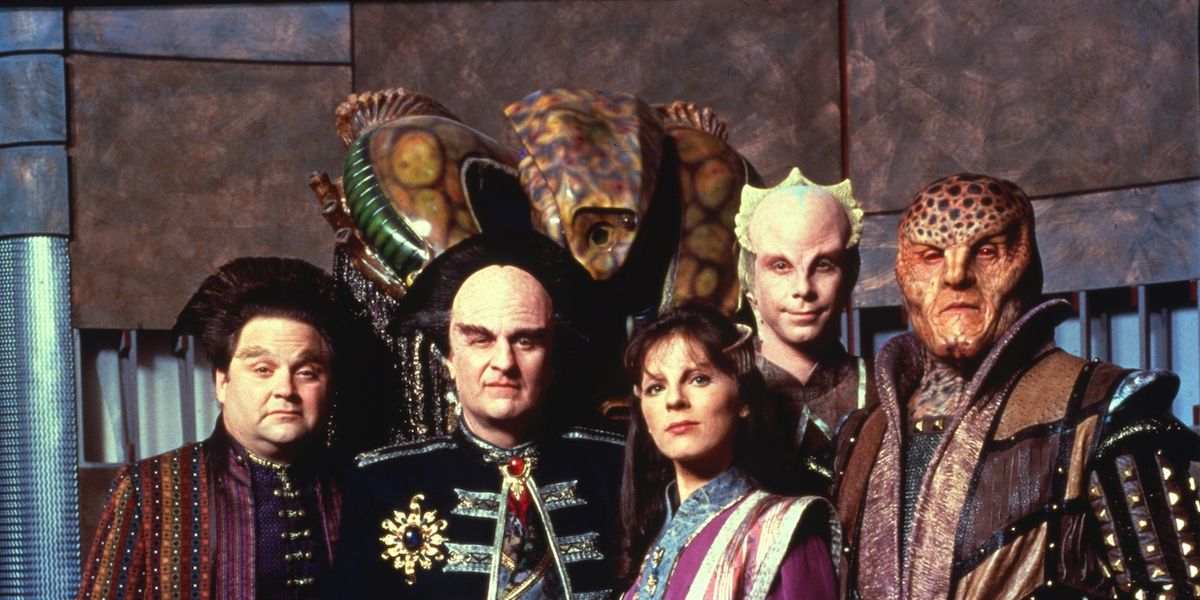 The alien ambassadors of Babylon 5