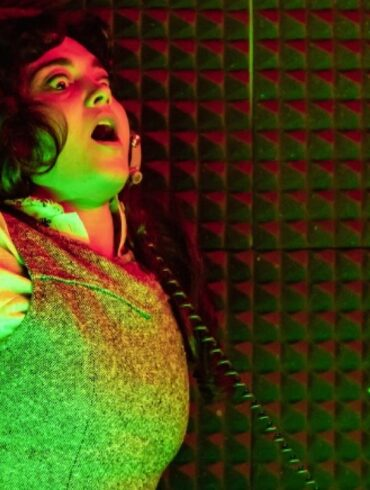 A terrifying session in the recording booth in Berberian Sound Studio