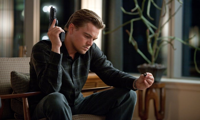 The ending of Inception wedding ring scene